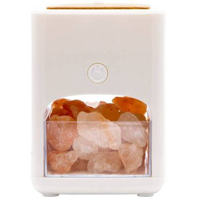Aromalamps aromatherapy ultrasonic diffuser lamp Himalaya with Himalayan salt