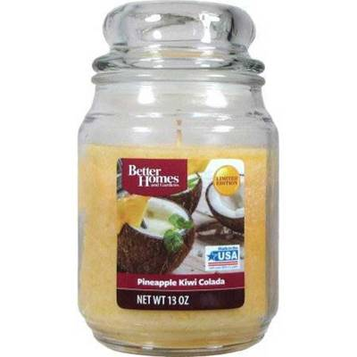 Better Homes and Gardens WM Scented candle in glass jar 13 oz 368,5 g - Pineapple Kiwi Colada