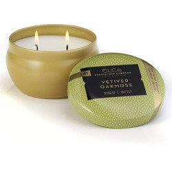 Candle-lite CLCo luxury scented candle 2 wick tin 6.25 oz 177 g - No. 41 Vetiver Oakmoss