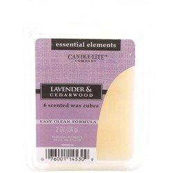 Candle-lite Essential Elements Wax Melts Essential Oil 2 oz 56 g - Lavender & Cedarwood
