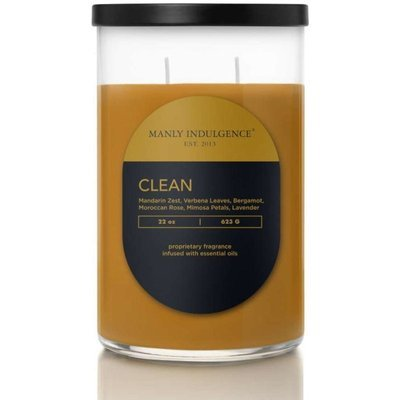 Colonial Candle Contemporary masculine soy scented candle 22 oz 623 g - Clean