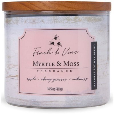 Colonial Candle Finch & Vine large soy scented candle 3 wicks 14.5 oz 411 g - Myrtle & Moss
