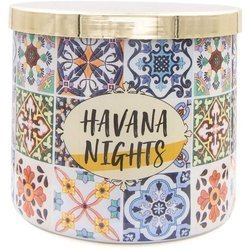 Colonial Candle Luxe large soy scented candle 3 wicks 14.5 oz 411 g - Havana Nights