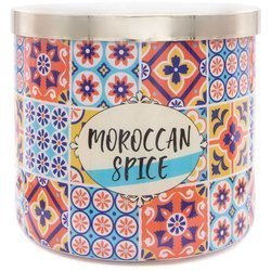 Colonial Candle Luxe large soy scented candle 3 wicks 14.5 oz 411 g - Moroccan Spice