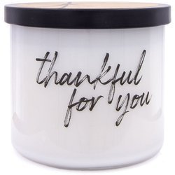 Colonial Candle Luxe large soy scented candle 3 wicks 14.5 oz 411 g - Thankful For You