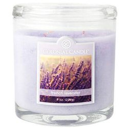 Colonial Candle medium scented oval jar candle 8 oz 226 g - French Lavender