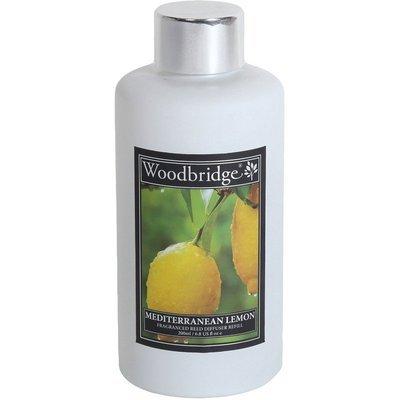 Woodbridge reed diffuser liquid refill bottle 200 ml - Mediterranean Lemon