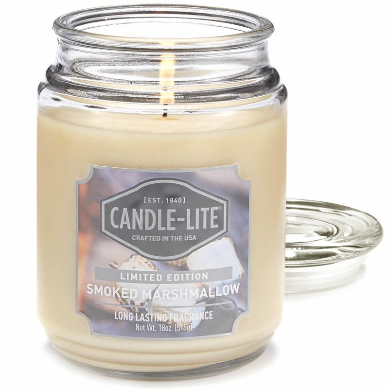 Candle-lite Everyday Collection Large Scented Jar Glass ...