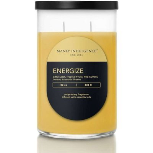 Colonial Candle Contemporary Всеамериканские мужские свечи с ароматом сои 22 унций 623 г - Energize