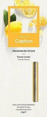 Enviroscent Caption patyczki zapachowe dyfuzor naturalny z papieru 6 szt - Tuscan Lemon